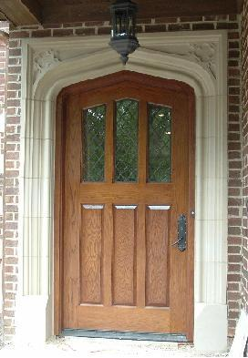 See examples of Tudor Stone Door Surrounds