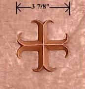 Tudor Bronze Emblem - Cross