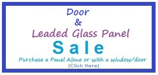 Glass and Door clearance sale