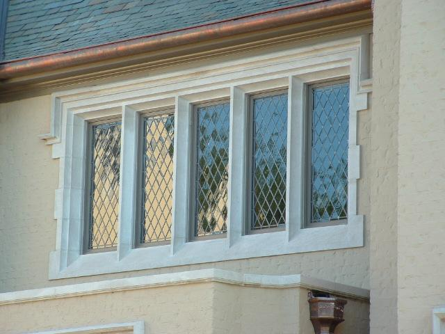 See examples of Tudor Stone Window Surrounds