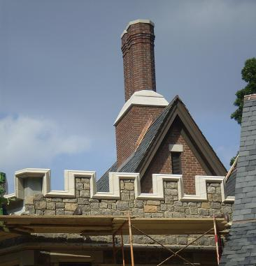 See examples of Tudor Stone Crenellation