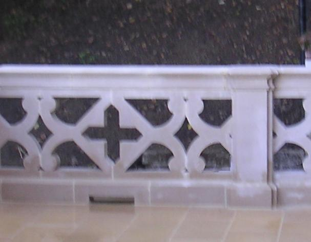 See examples of Tudor Stone Screens/Balustrades